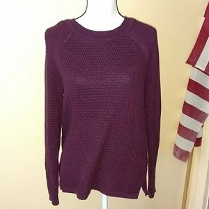 Old navy maroon sweater. Large